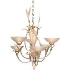 <strong>Van Teal</strong> Almost Autumn Expectation 6 Light Chandelier