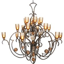 <strong>Van Teal</strong> Feelings Double Passion 18 Light Chandelier
