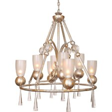 <strong>Van Teal</strong> Bolero Brahms 8 Light Chandelier