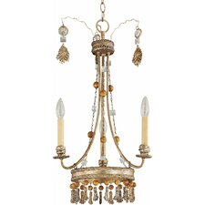 <strong>Flambeau Lighting</strong> Bon Vivant 3 Light Chandelier
