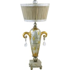 """Amphor Luxe 36"""" H Table Lamp Empire Shade"""