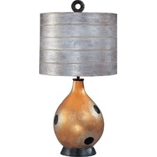 """Pericles 26"""" H Table Lamp Drum Shade"""
