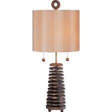 """Noel 32.5"""" H Table Lamp Drum Shade"""