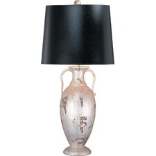 <strong>Flambeau Lighting</strong> Basin 1 Light Table Lamp