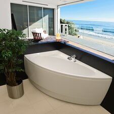 "Idea 59"" H x 25.25"" W Freestanding Acrylic Bathtub"