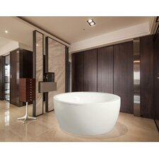 "Pamela Freestanding 68"" x 68"" Soaking Tub"