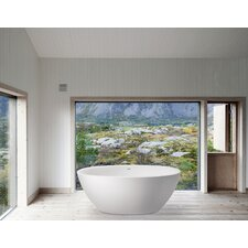 "Sensuality Mini Freestanding 66.5"" x 33"" Soaking Tub"