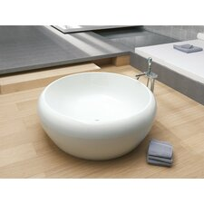 "Istanbul Inspiration Freestanding 63"" x 63"" Soaking Tub"