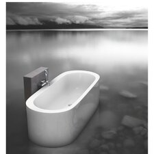 "Istanbul Innovation Freestanding 74.75"" x 35.5"" Soaking Tub"