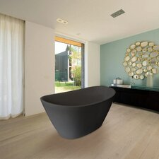 "PureScape Freestanding 63"" x 33.5"" Soaking Tub"
