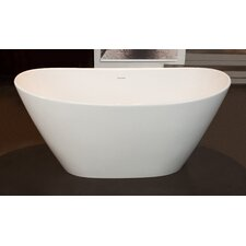 "PureScape 64"" x 33.5"" Freestanding Bathtub"