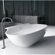 "<strong>Aquatica</strong> PureScape 71"" x 36"" Freestanding AquaStone Bathtub"