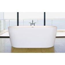 "PureScape 63"" x 27.5"" Freestanding Acrylic Bathtub"