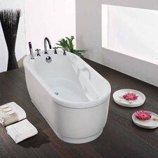 "PURESCAPE 51"" x 30""  Freestanding Acrylic Bathtub"
