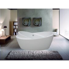 "PureScape 69"" x 34"" Freestanding Acrylic Bathtub"