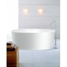 "PureScape 61"" x 32"" Freestanding AquaStone Bathtub"