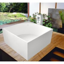 "<strong>Aquatica</strong> PureScape 41"" x 41"" Freestanding AquaStone Bathtub"