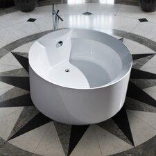 "PureScape 53"" x 53"" Freestanding Acrylic Bathtub"