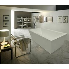 "PureScape 70.75"" x 33.5"" Bathtub"