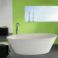 "<strong>Aquatica</strong> PureScape 71"" x 34"" Bathtub"