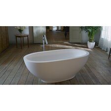 "Karolina Freestanding 70.88"" x 35.38"" Soaking Tub"