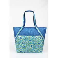 <strong>Sachi</strong> Insulated Fashion Paisley Tote