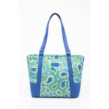 Insulated Fashion Paisley Lunch Tote