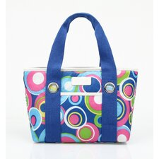 Insulated Fashion Style 11 Circles Lunch Tote