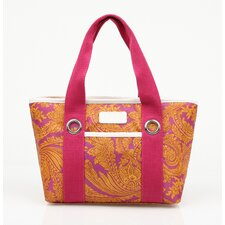 Insulated Fashion Style 11 Paisley Lunch Tote