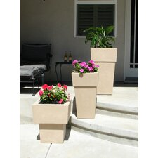 Saratoga Square Planter (Set of 3)