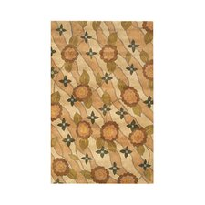 Avalon Peach/Beige Area Rug
