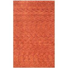 Ebony Red Area Rug
