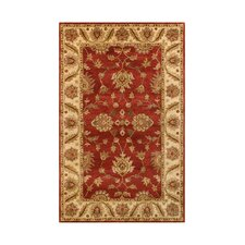 Golden Red/Beige Rug