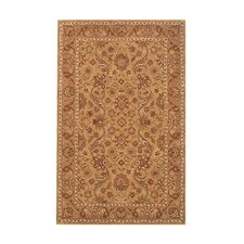 Harmony Beige/Camel Floral Area Rug
