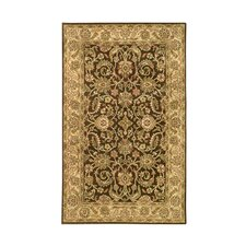 Harmony Brown/Gold Floral Area Rug