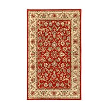 Harmony Red/Beige Floral Area Rug