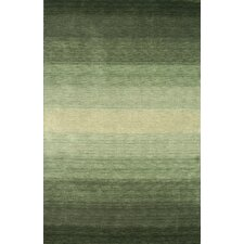Majestic Green Area Rug