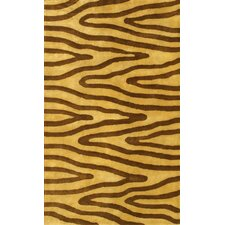 Eleen Light Gold/Brown Area Rug