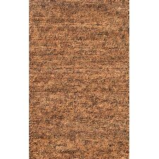 Eyeball Brown/Peach Rug