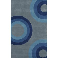 Eleen Blue/Gray Area Rug
