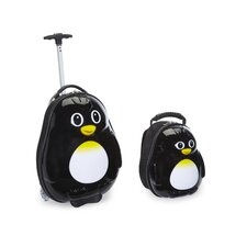 2 Piece Percy Penguin Children's Luggage Set