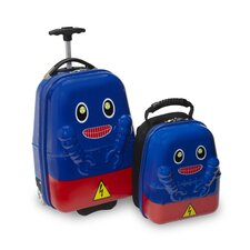 2 Piece Rusty Robot Children's Luggage Set