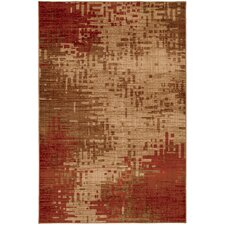 Select Kaleidoscope Inferno Red Rug