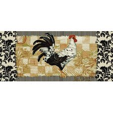 New Wave Kitchen Bergerac Rooster Novelty Rug