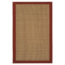 <strong>Mohawk Select</strong> Raffia Red Reed Rug