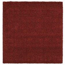 Super Texture Shag Brick Red Meadowland Rug