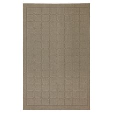 Home Comforts Taupe Cushion Rug