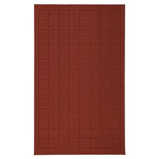 Home Comforts Brown Cushion Rug