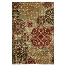 Cachet Multi Stamped Medallions Rug