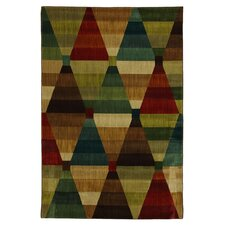 <strong>Mohawk Select</strong> Intermezzo Multi Kaleidoscope Diamonds Rug